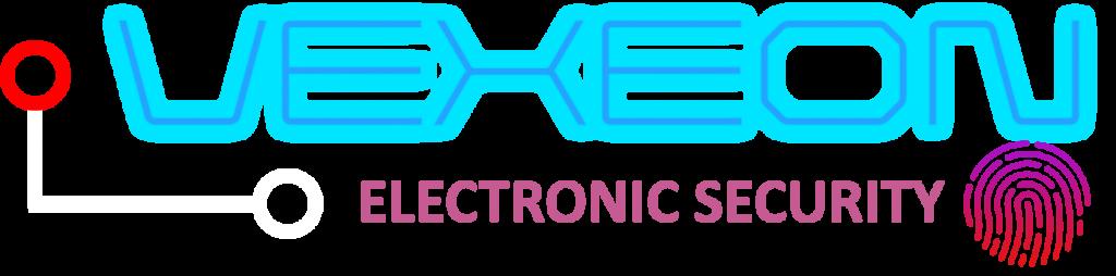 VEXEON ELECTRONIC SECURITY LOGO