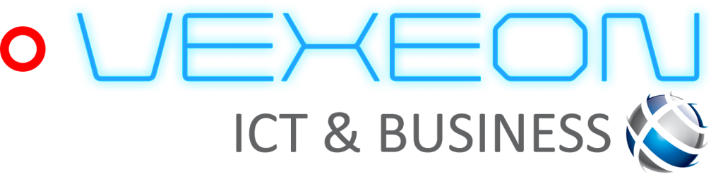 VEXEON ICT & BUSINESS LOGO